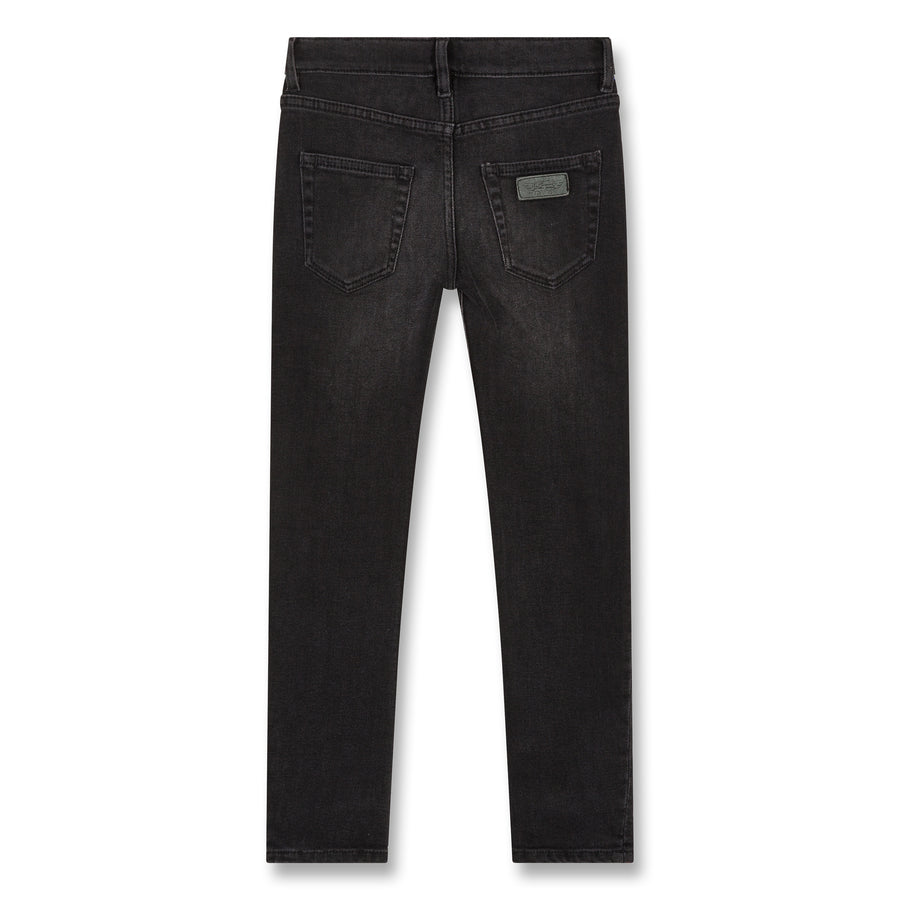 Icon Khol Denim -  Woven 5 Pockets Slim Fit Jeans
