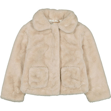 Jacket Lucette Fake Fur Beige