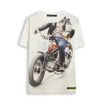 Kid Off White 50A -  Short Sleevess Tee-Shirt