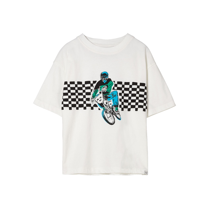 KING Off White BMX - Short Sleeves T Shirt