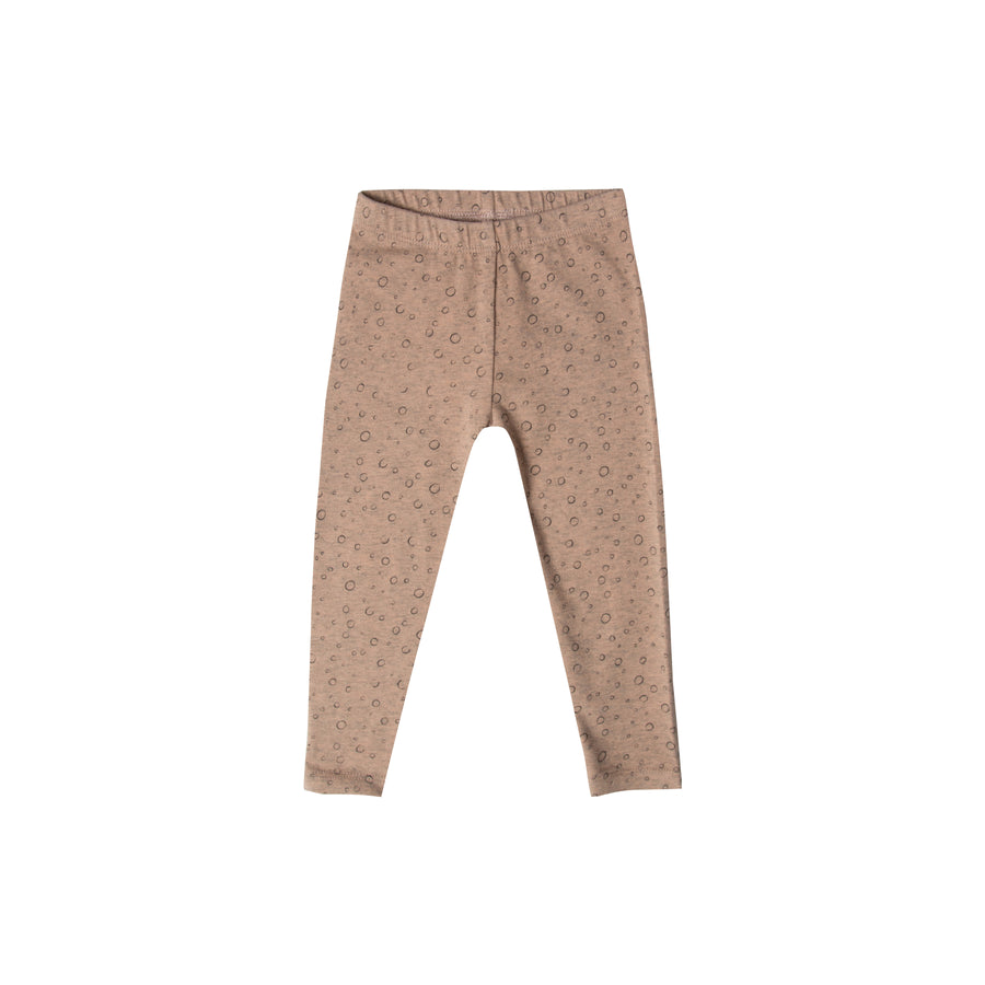 Legging Bulles Terracotta