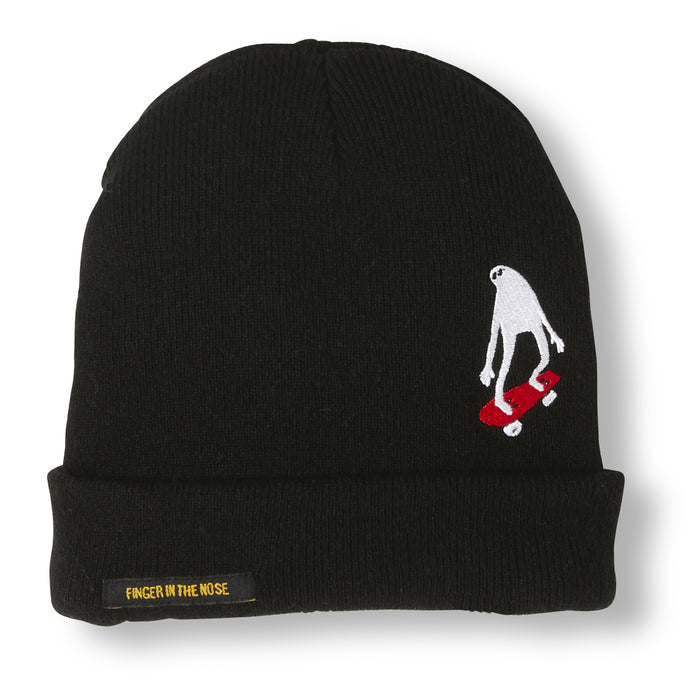 NAGANO Black Ghost Skate -  Heavy Knitted Beanie