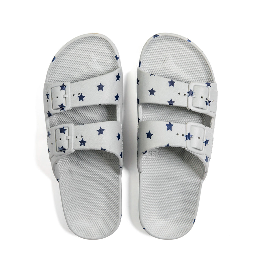 Slippers Freedom Moses Navy Stars