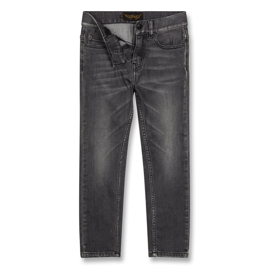 New Norton Grey Denim - Boy Woven 5 Pocket Straight Fit Jeans