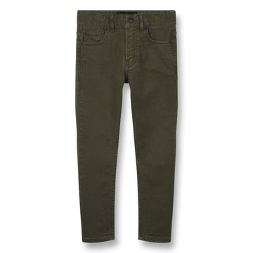 New Norton Khaki - Boy Woven 5 Pockets Straight Fit Jeans