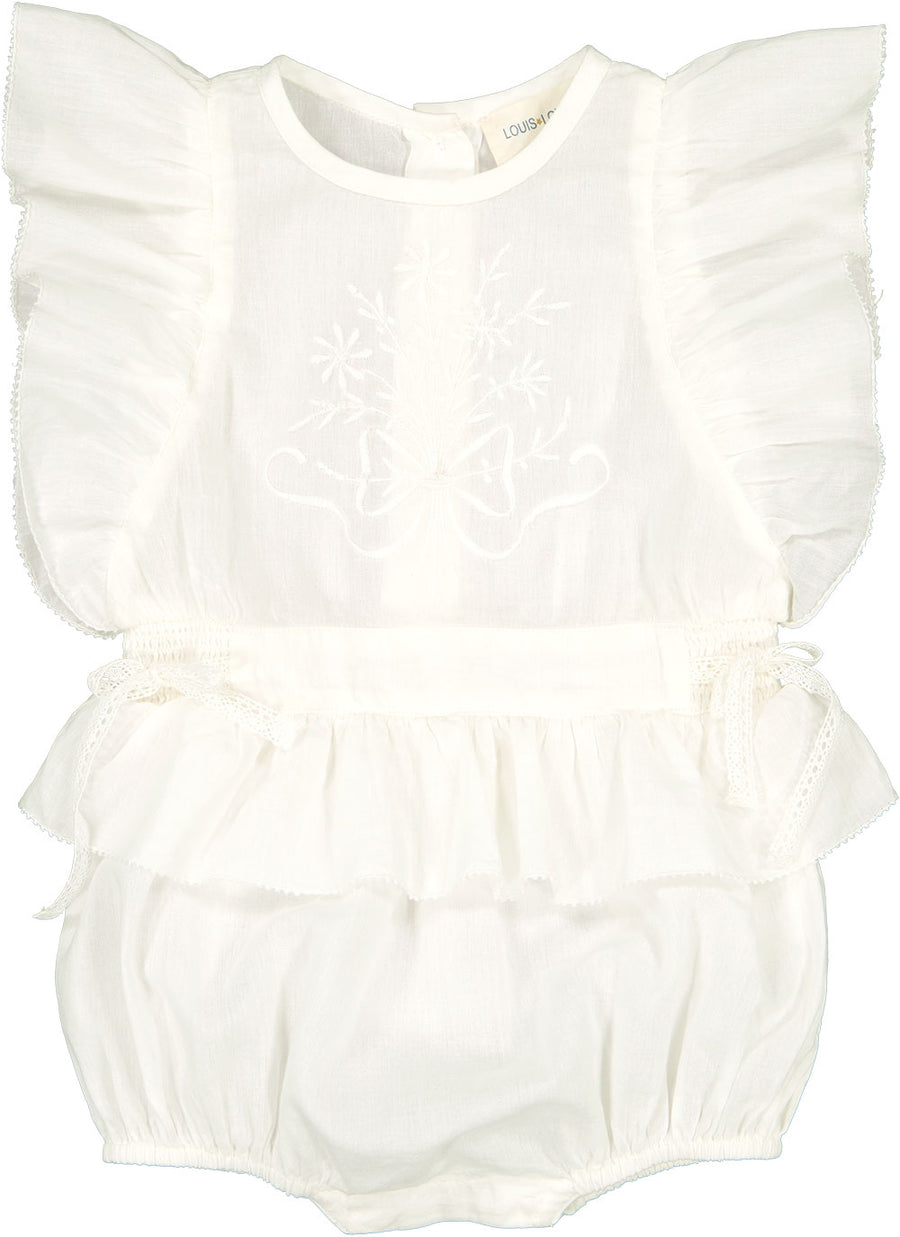Overall Ange Cotton Veil Off White