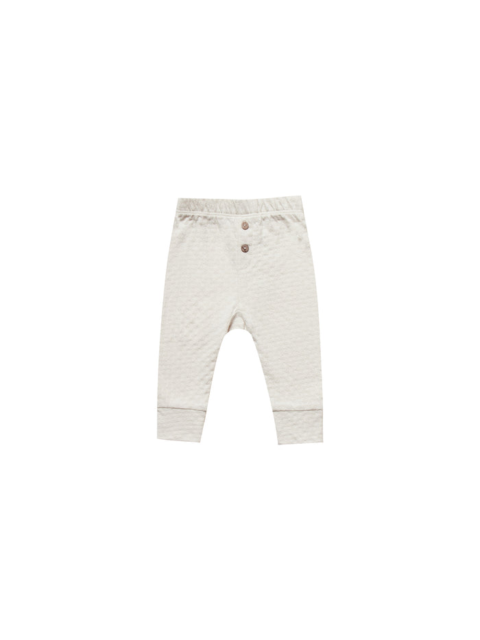 Pointelle Pajama Pant Pebble
