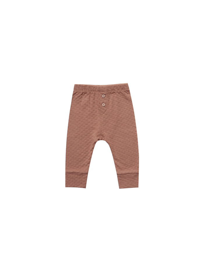 Pointelle Pajama Pant Clay
