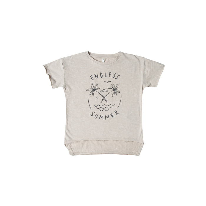 T-shirt endless summer pebble