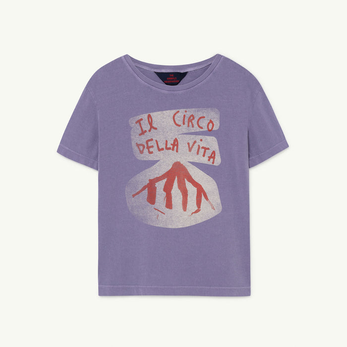 Rooster Kids+ T-Shirt Purple Circo