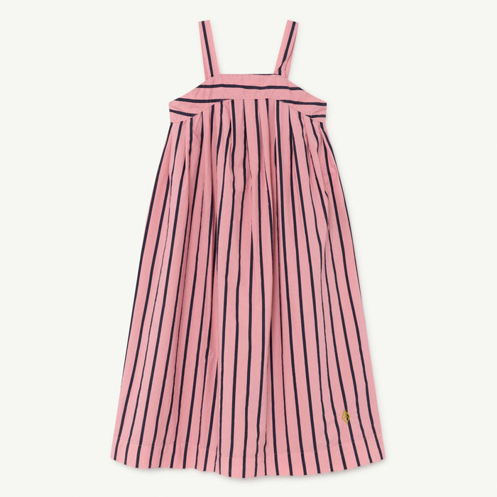 Giraffe Kids Dress Pink Stripes