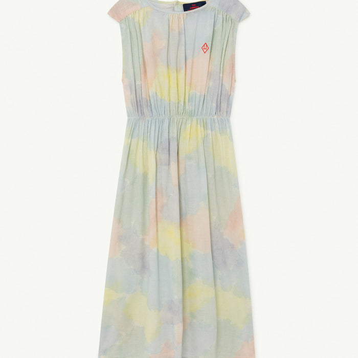 Marten Kids Dress Multicolor Watercolor