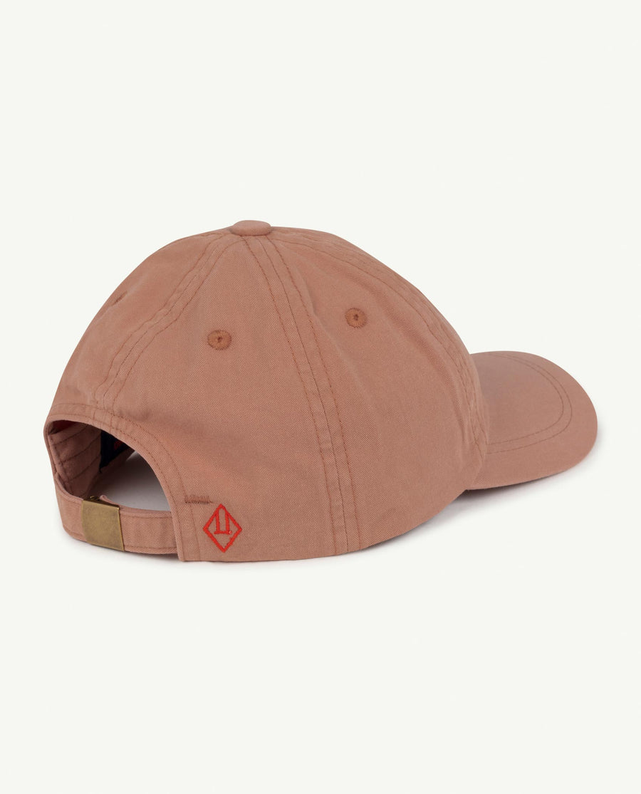 Hamster Kids Cap Brown Mouth Os