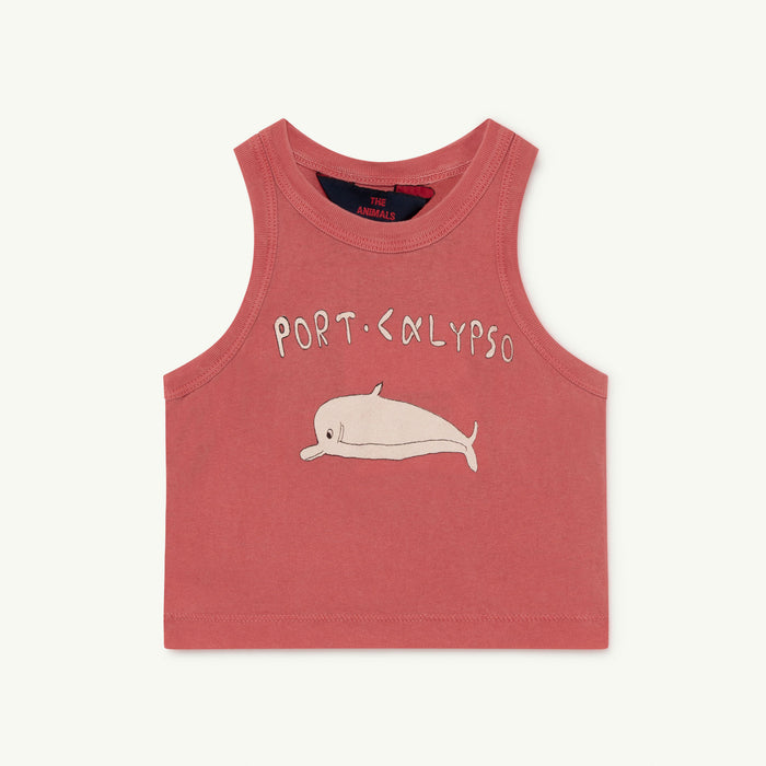 Frog Baby T-Shirt Red Dolphin