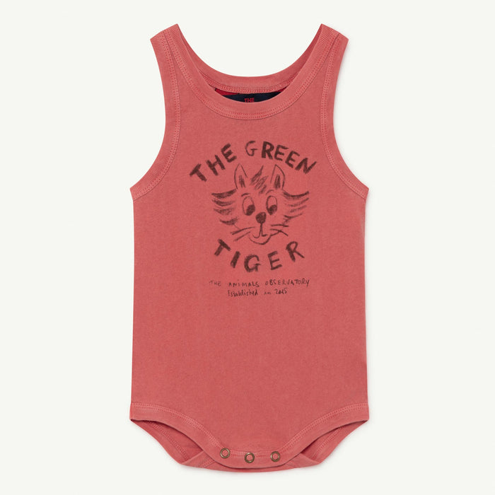 Turtle Baby Body Red Tiger