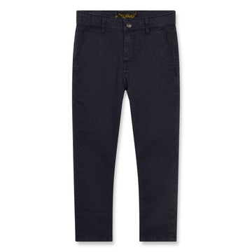Scotty Super Navy - Boy Woven Chino Fit Pants