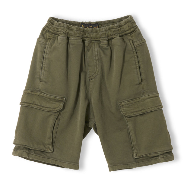 SHORTBEACH Khaki - Boy Woven Jogging Shorts
