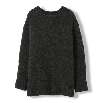 Skylar Dark Grey - Unisex Heavy Knitted Oversized Jumper