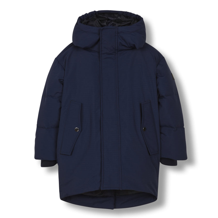 Snowdoll Sailor Blue - Oversized Down Coat