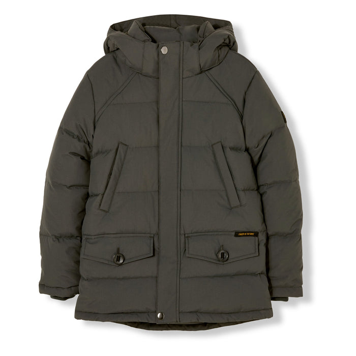 Snowmoose Ash Black - Down Parka