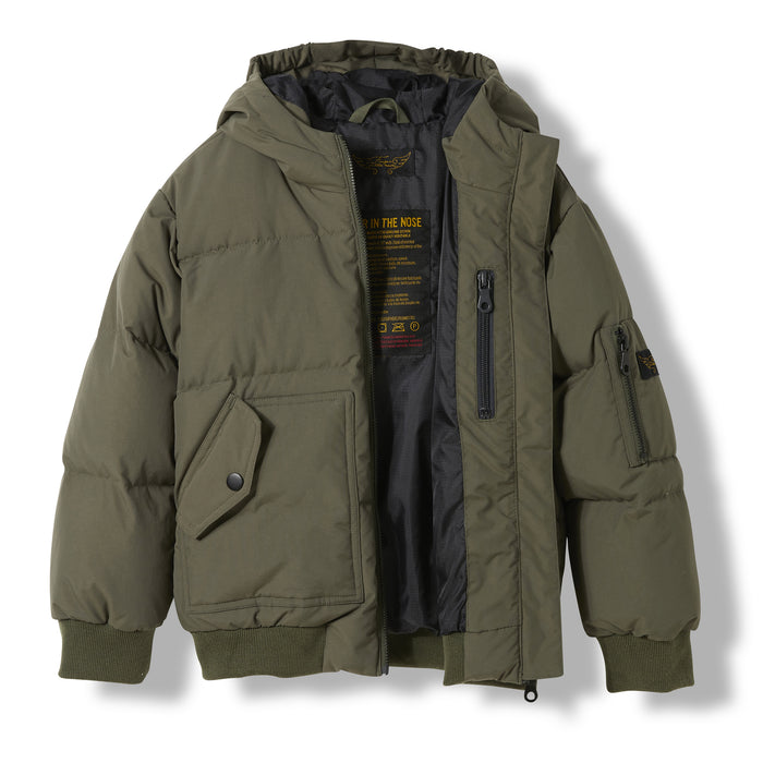 SNOWMOVE City Khaki -  Woven Down Jacket