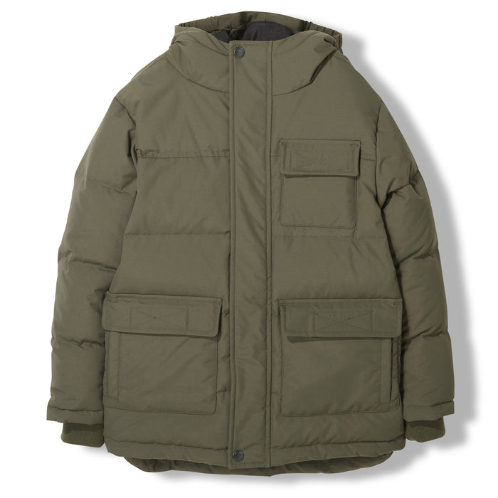 SNOWTOWN City Khaki -  Woven Down Parka