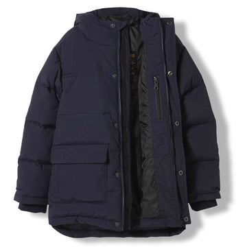 Snowtown Navy - Boy Woven Down Parka