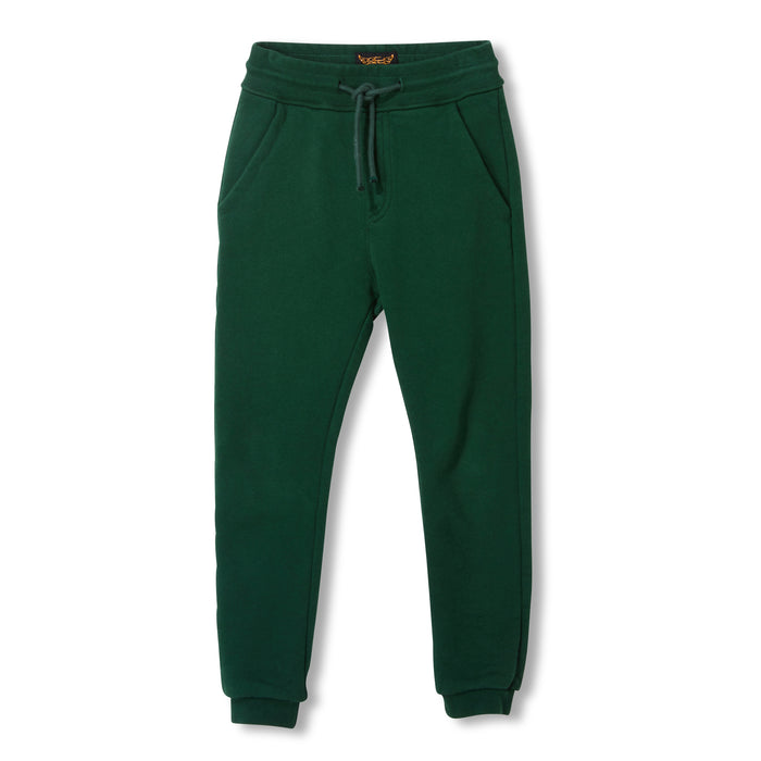 SPRINT College Green -  Knitted Fleece Jogging Pants