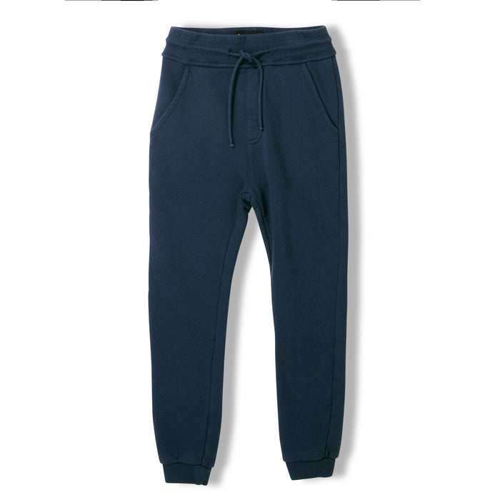 SPRINT Night Blue -  Knitted Fleece Jogging Pants