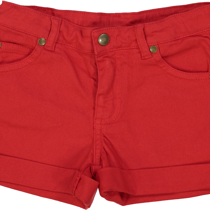 Short ARIA - Dyed Denim Red