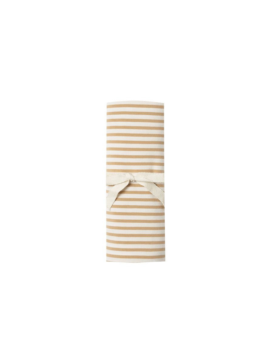 Baby Swaddle Honey Stripe