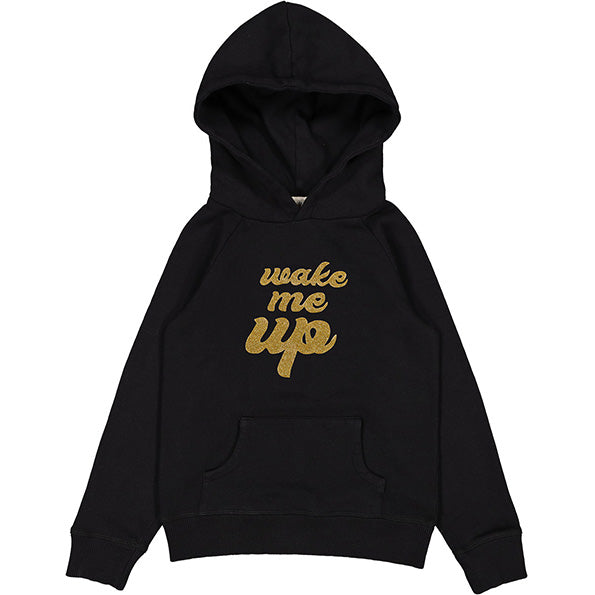 Sweat Board Fleece Wake Me Up Black