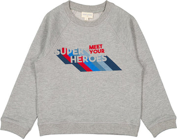 Sweat James Fleece Hero Marled Grey