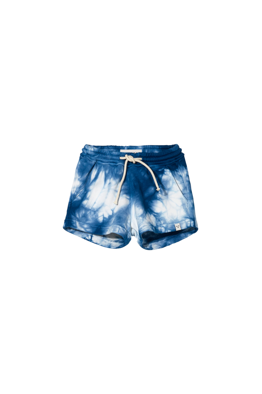 TRINITY Work Blue Tie & Dye - Elasticated Shorts