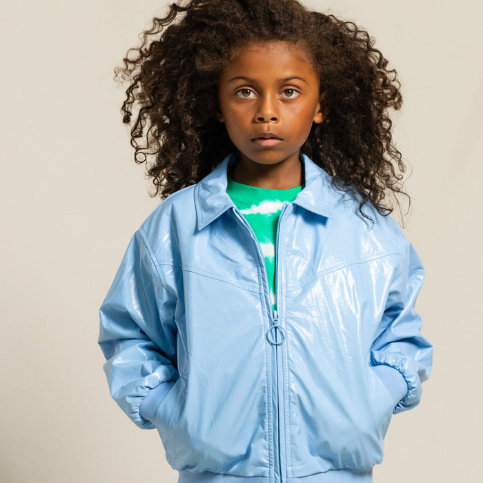 TWINNY Sky Blue - Harrington Jacket