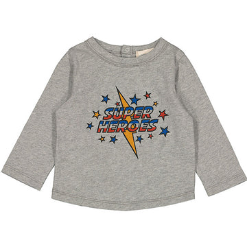 T-Shirt Jules Jersey Heroes Marled Grey