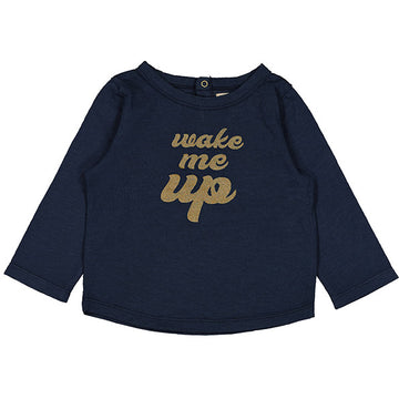 T-Shirt Jules Jersey Wake Me Up Navy