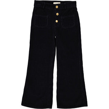Trousers Christie Big Corduroy Black