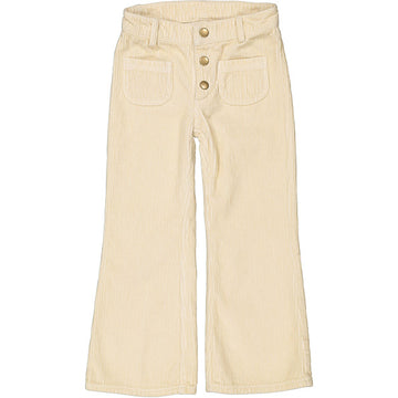 Trousers Christie Big Corduroy Offwhite