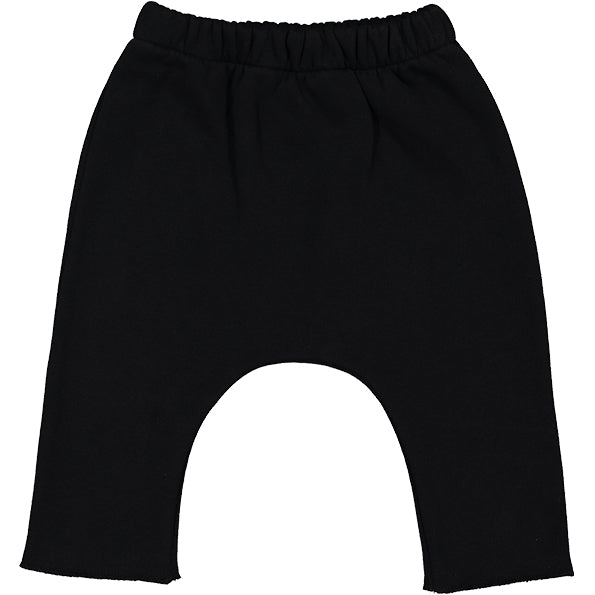 Trousers Savane Fleece Black