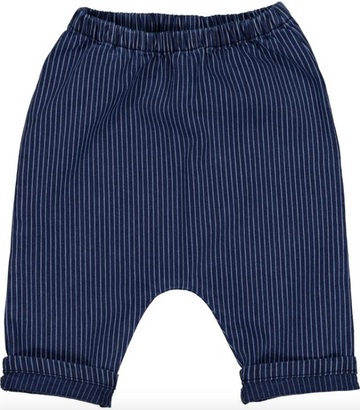 Trousers Jungle Stripes Denim Blue