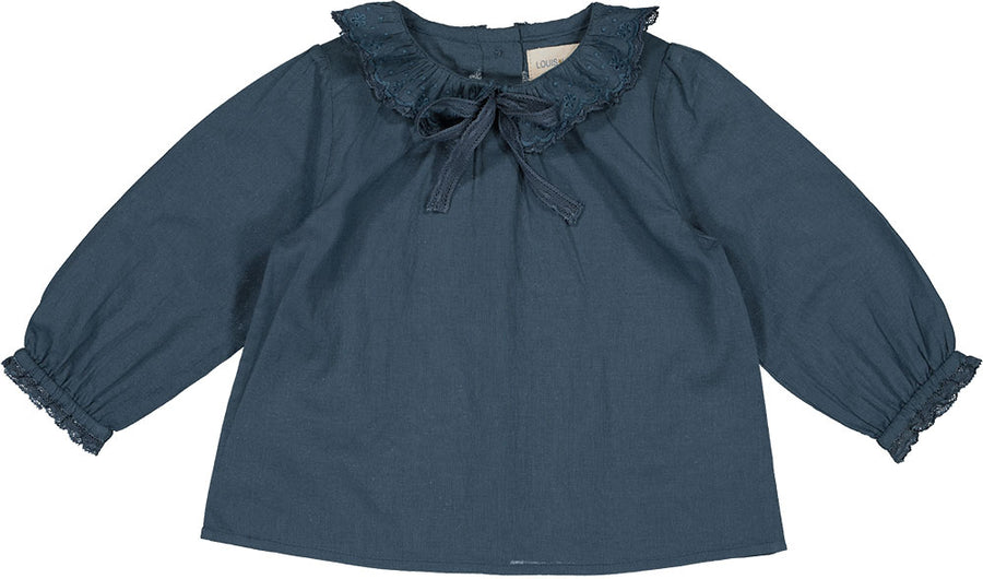 Tunic Alice Cotton Veil Dark Blue