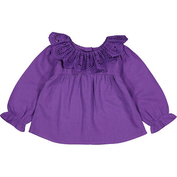 Tunic Delphine Cotton Veil Purple