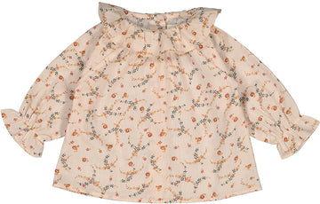 Tunic Lilie English Flower Brique