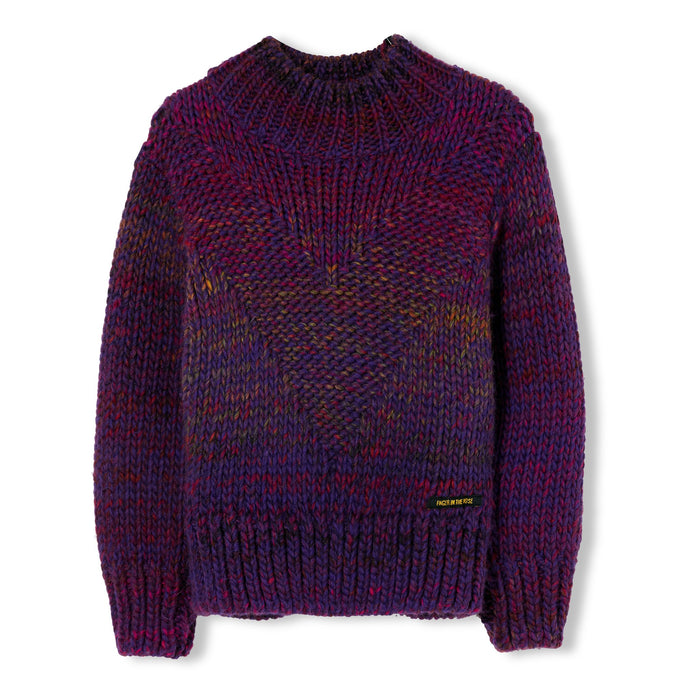 Vanity Purple - Oversized Jumper