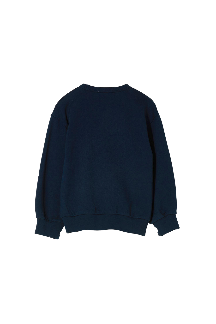 WIND Navy Macaroni - Loose Sweater