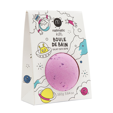 BOULES DE BAIN ROSE - POINTS VIOLET