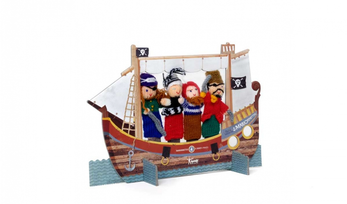 Pirates - Wool Finger Puppets