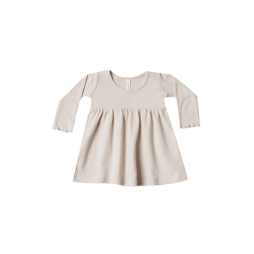Longsleeve Baby Dress Bone