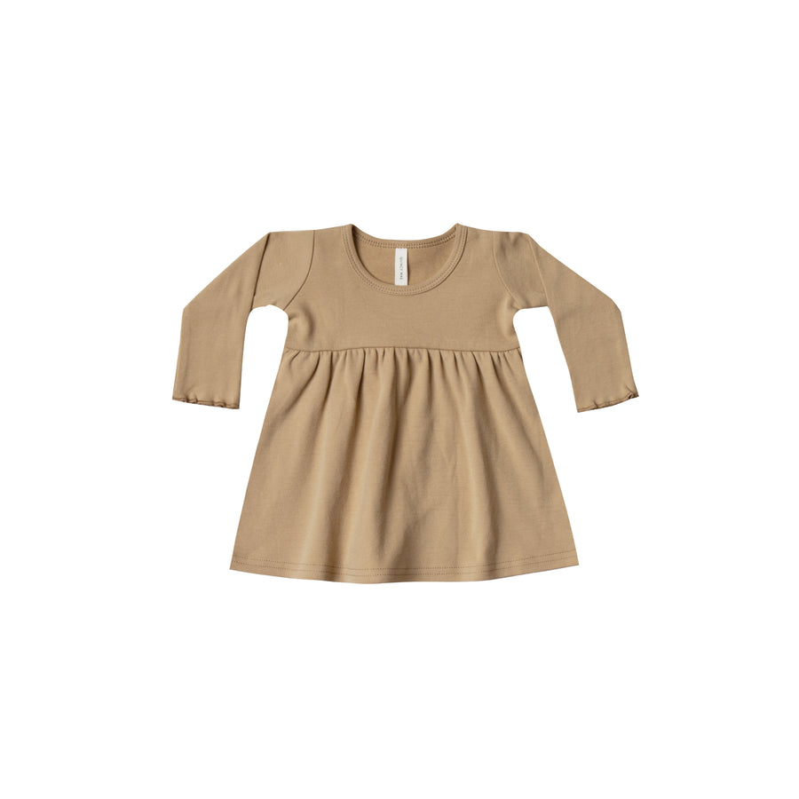 Longsleeve Baby Dress Honey